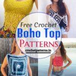 15 Stylish Free Crochet Boho Top Patterns And Design