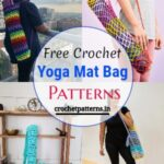 Free Crochet Yoga Mat Bag Patterns
