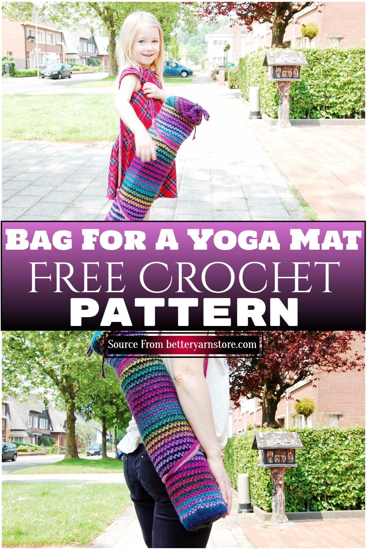 Free Crochet Bag For A Yoga Mat Pattern 1