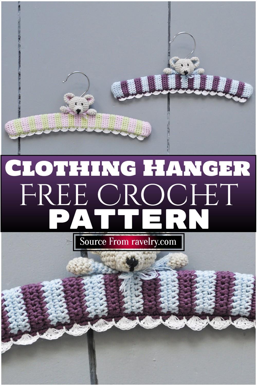 Free Crochet Clothing Hanger Pattern