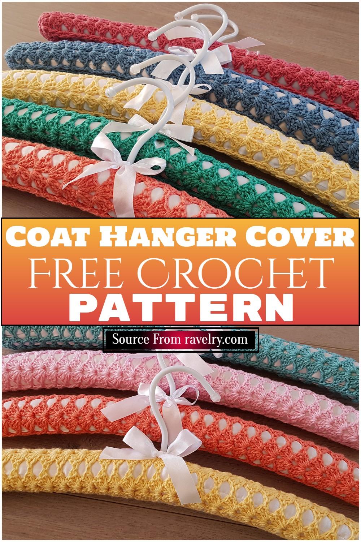 Free Crochet Coat Hanger Cover Pattern