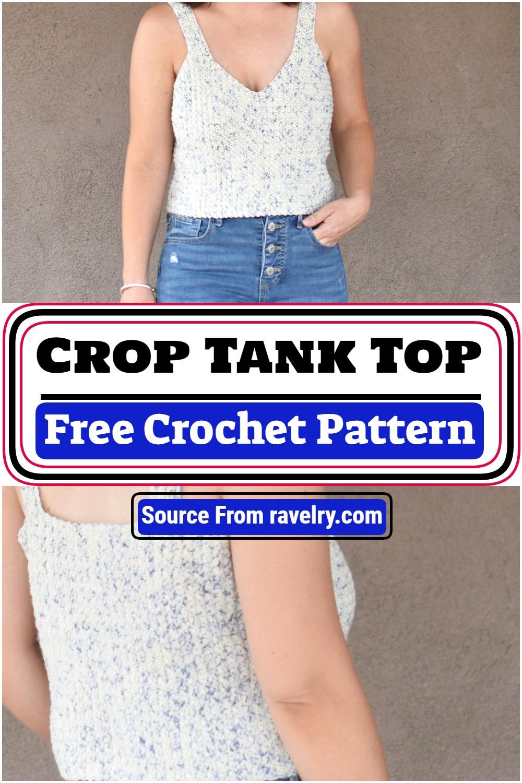 Free Crochet Crop Tank Top Pattern