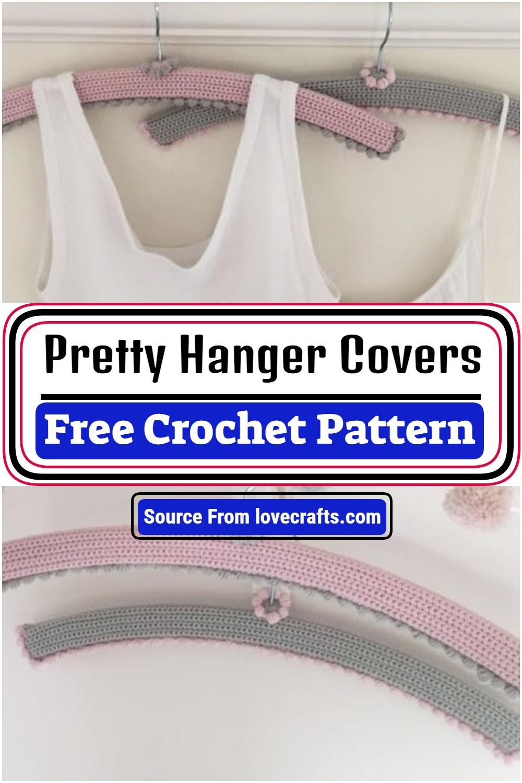 Free Crochet Pretty Hanger Covers Pattern
