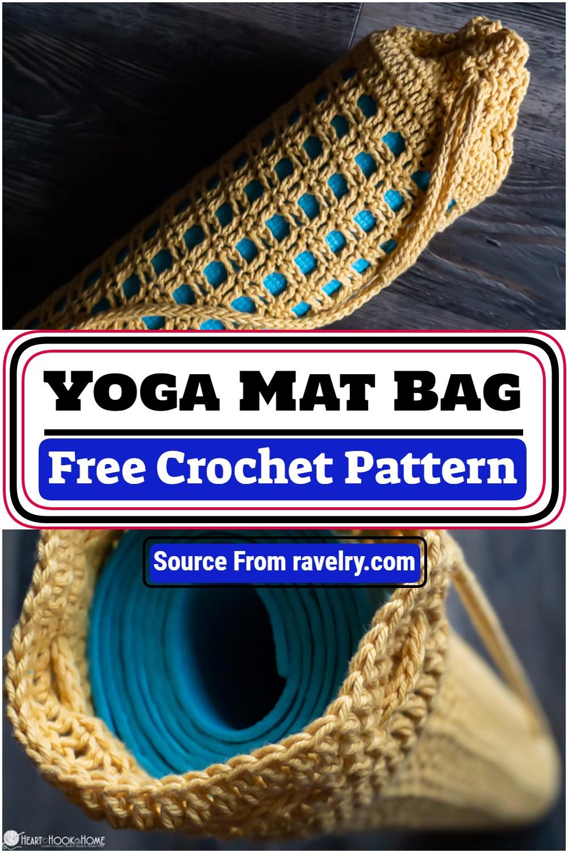 Free Crochet Yoga Mat Bag Pattern