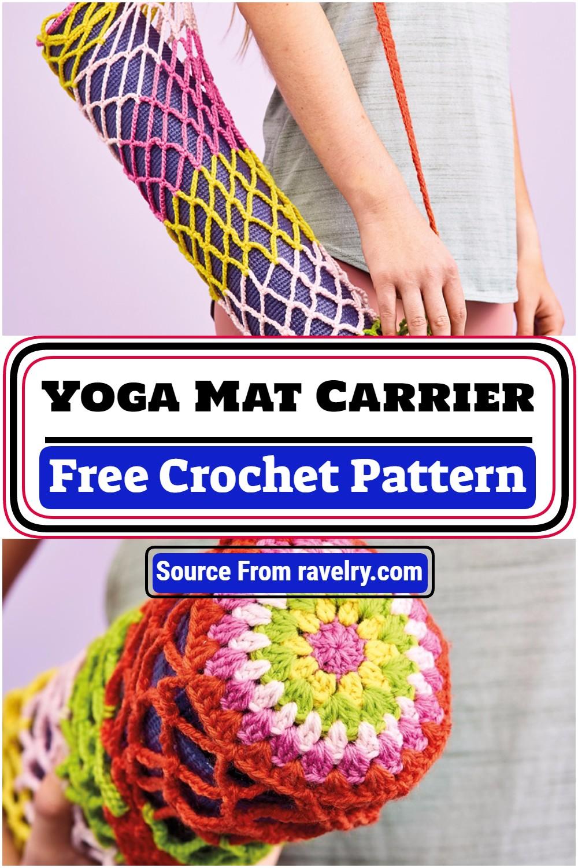 Free Crochet Yoga Mat Carrier Pattern