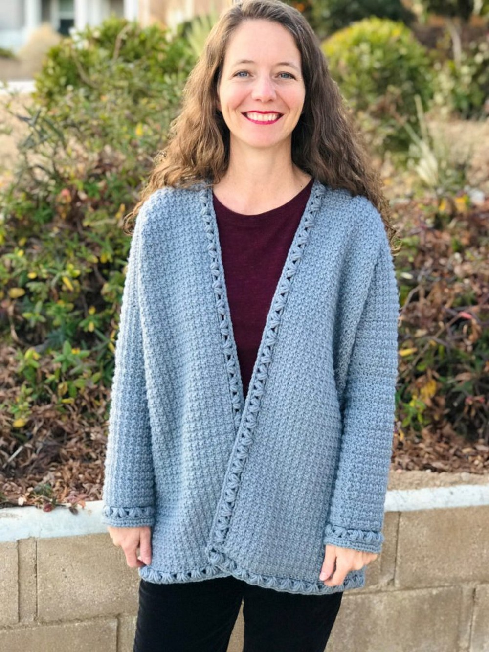 Free Oversized Crochet Cardigan Pattern In Sizes Xs-3xl