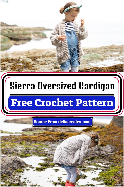 Free Oversized Crocheted Cardigan Pattern