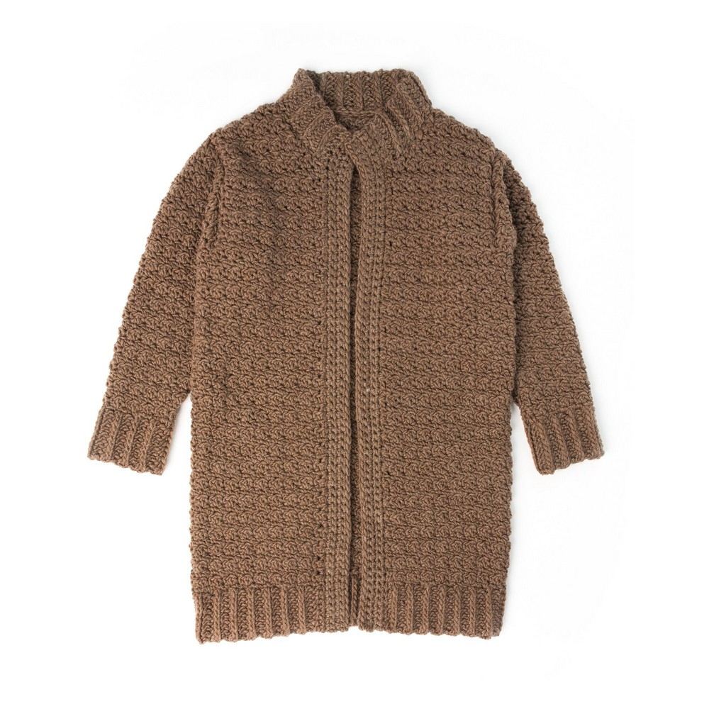 Slouchy Crochet Cardigan Pattern