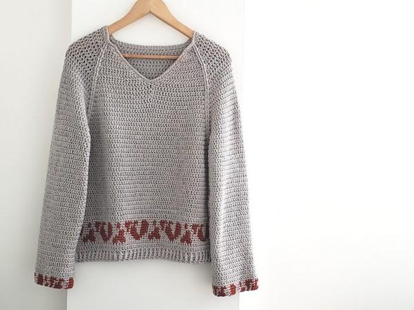 Bandia Crochet Sweater Pattern