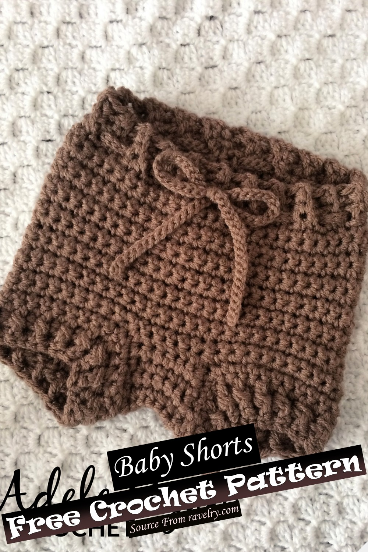 Crochet Baby Shorts Pattern