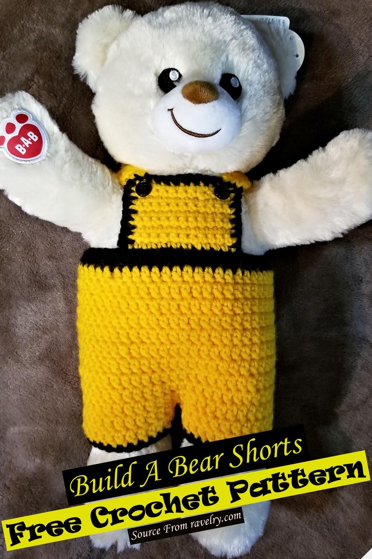 Crochet Build A Bear Shorts Pattern