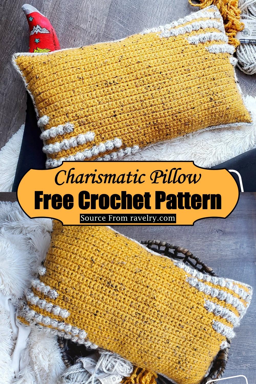 Crochet Charismatic Pillow Pattern