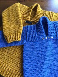 Crochet D & M Sweater Pattern