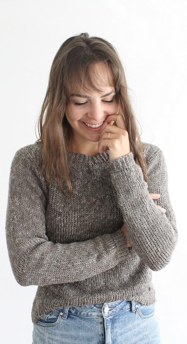 Crochet Follow You Sweater Pattern