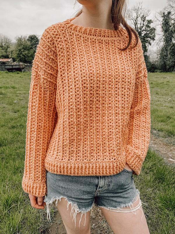 Crochet Juniper Sweater Pattern
