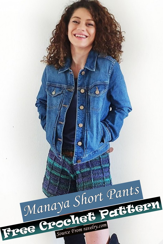 Crochet Manaya Short Pants Pattern