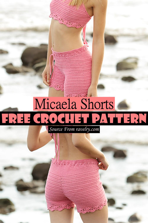 Crochet Micaela Shorts Pattern