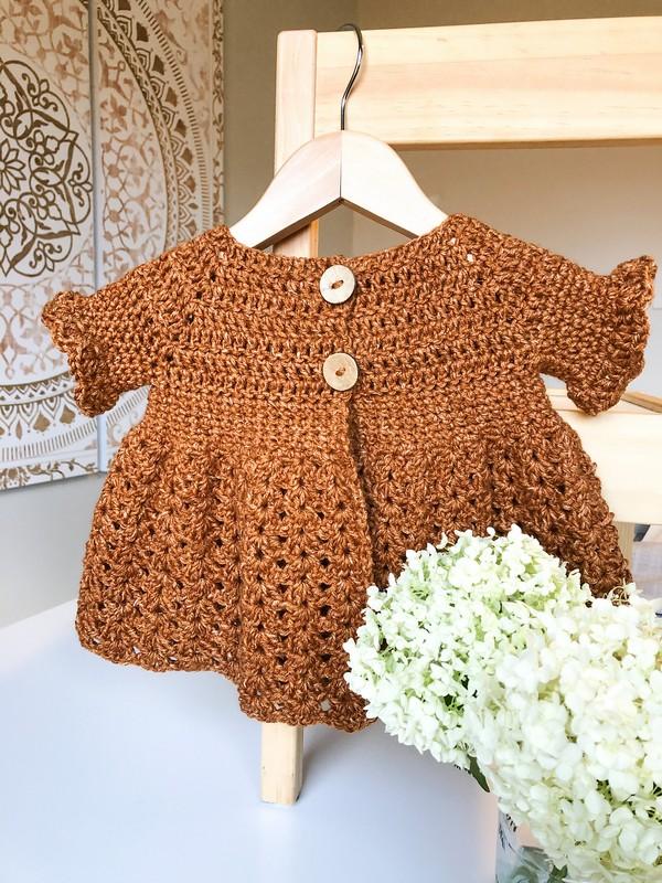 Crochet Mila Sweater Pattern
