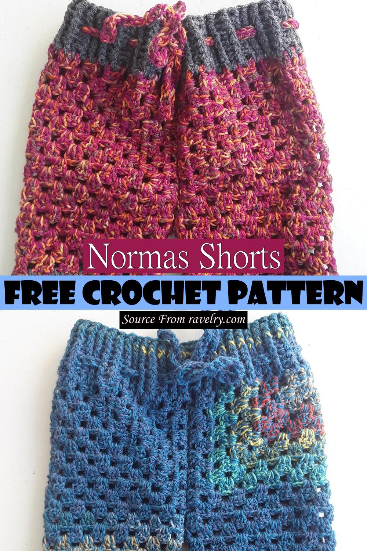 Crochet Normas Shorts Pattern
