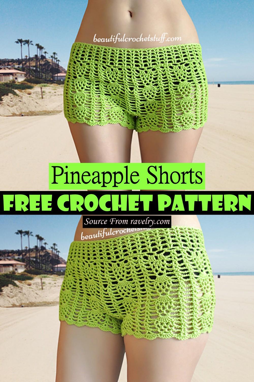 Crochet Pineapple Shorts Pattern