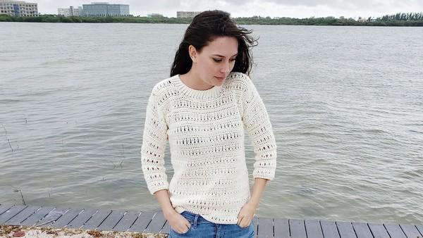 Crochet Sawgrass Sweater Pattern