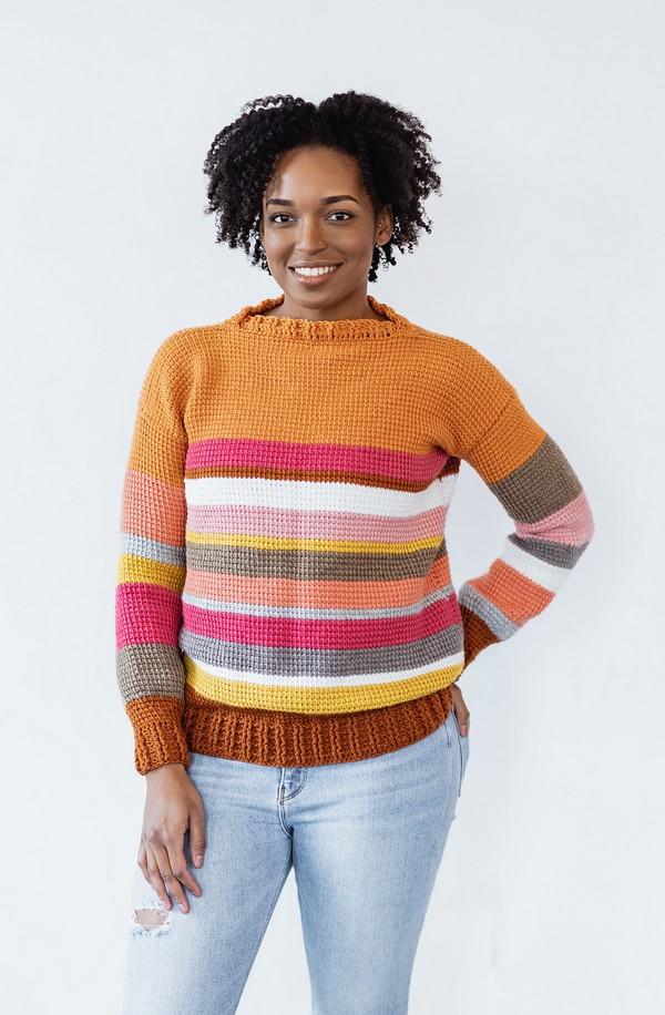 Crochet Sedona Sweater Pattern