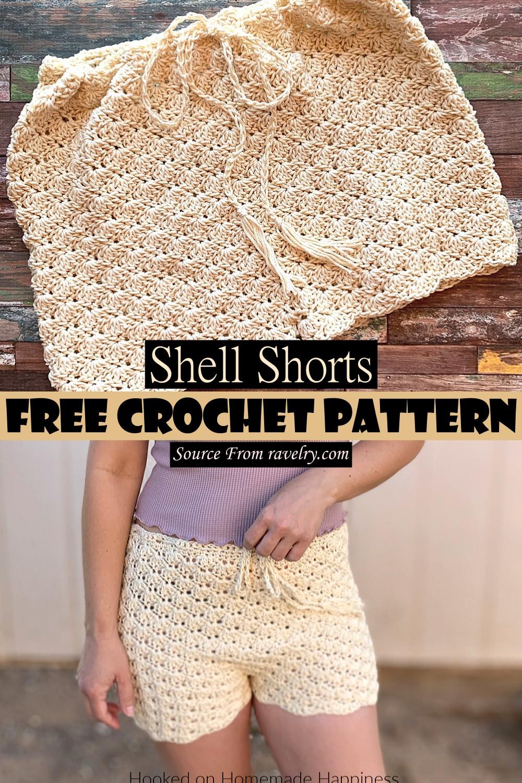 Crochet Shell Shorts Pattern