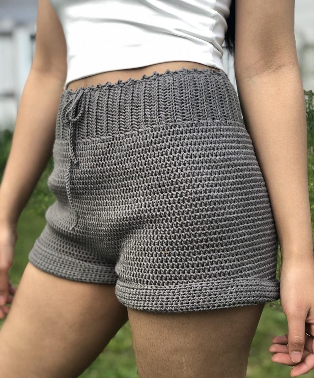 Crochet Shorts Beginner Friendly (Free Pattern Xs-xxl)