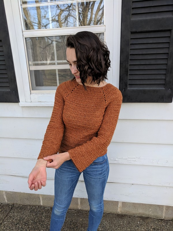 Crochet Sigfrid Sweater Pattern