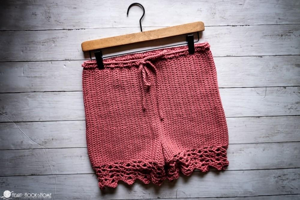 Crochet Staycation Shorts Free Pattern 1