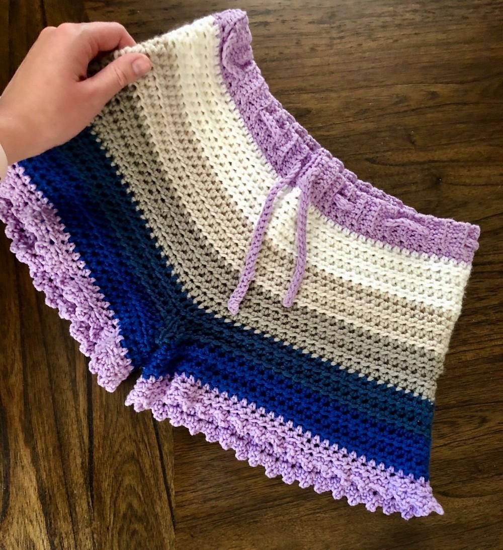 Crochet Stria Shorts Pattern