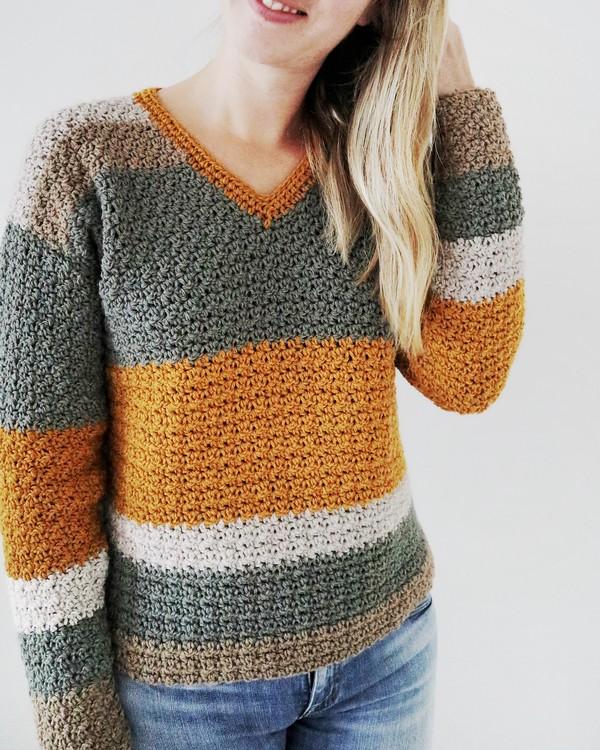 Crochet Sublime Sweater Pattern