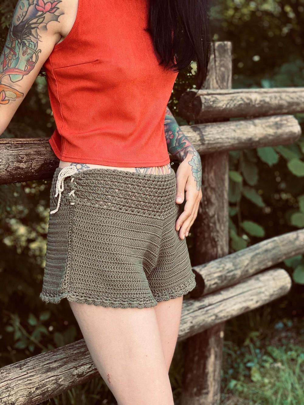 Crochet Summer Breeze Shorts Pattern