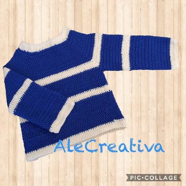 Crochet Sweater Davide Pattern