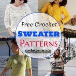 30 Crochet Sweater Patterns For Fall & Winter