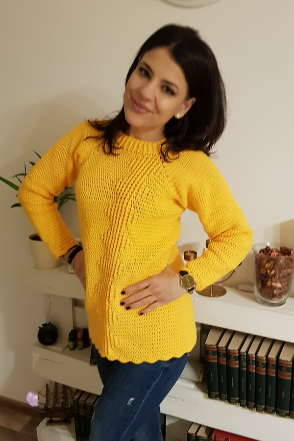 Crochet Sweater Simple Pattern