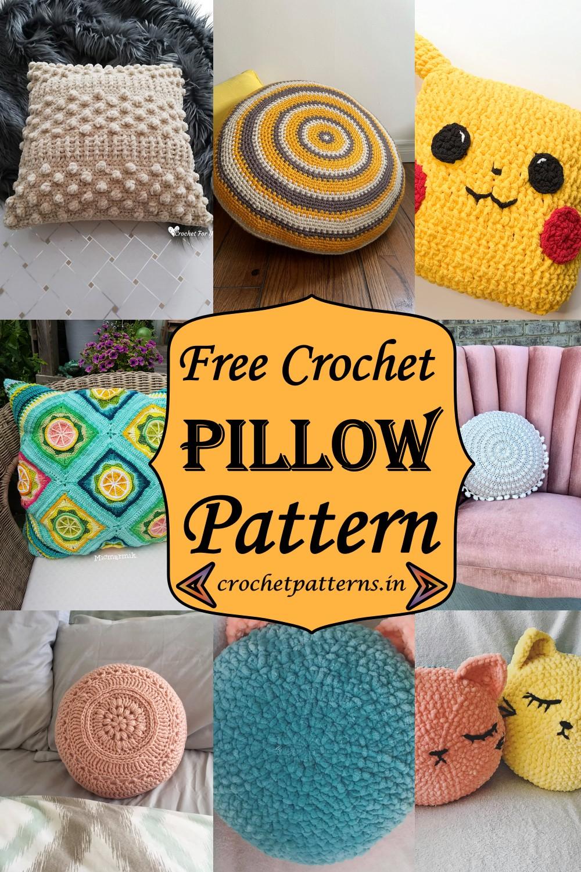 Free Crochet Pillow Patterns 1