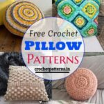 35 Soft Free Crochet Pillow Patterns For Every Home Need