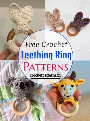 Free Crochet Teething Ring Patterns