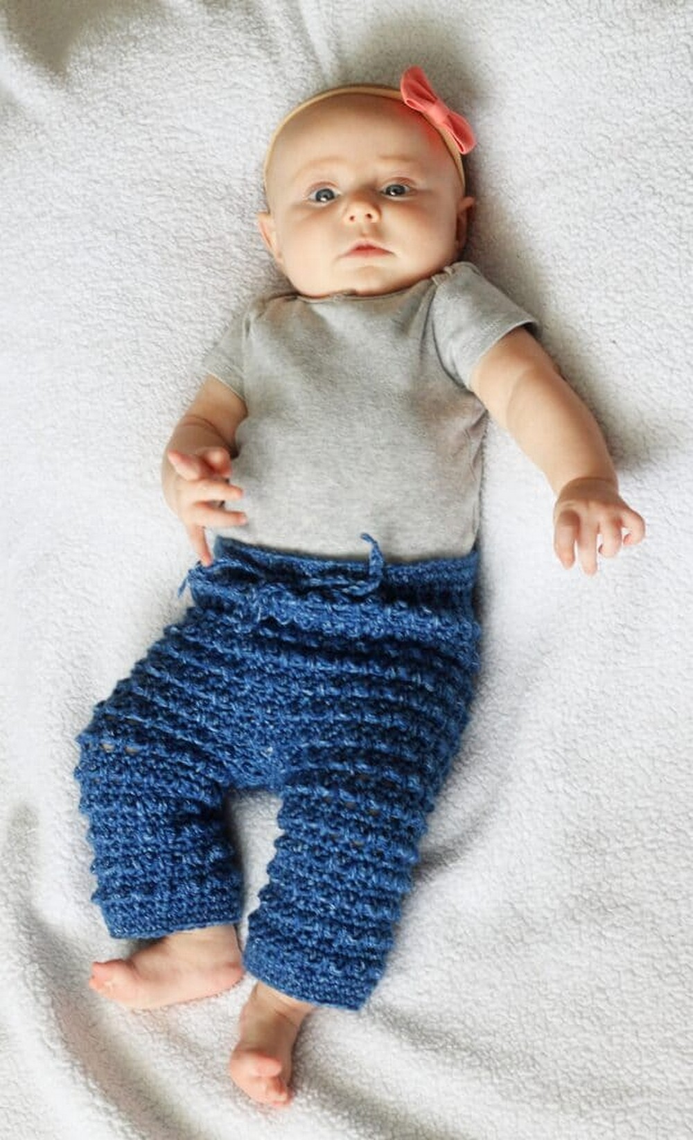 How To Crochet Baby Pants Pattern