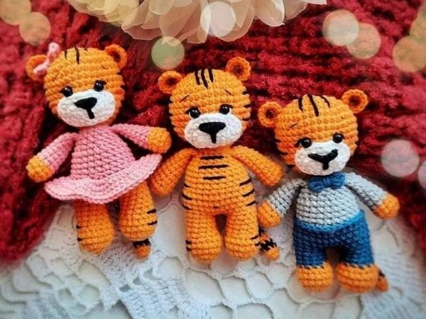 Amigurumi Little Tiger Free Pattern
