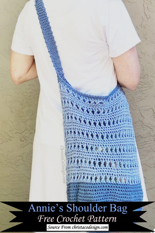 Annie's Crochet Shoulder Bag Free Pattern