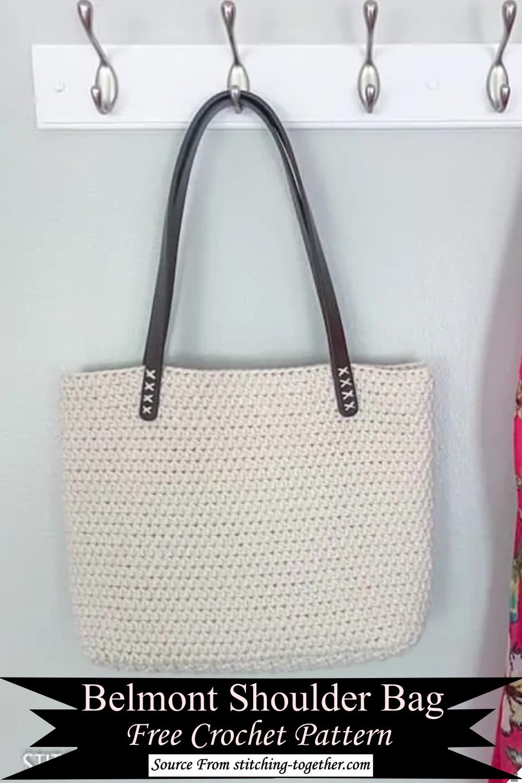 Belmont Crochet Shoulder Bag Pattern