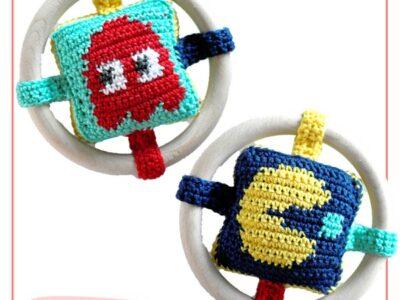 Bijtring Baby Rattle Crochet Pattern