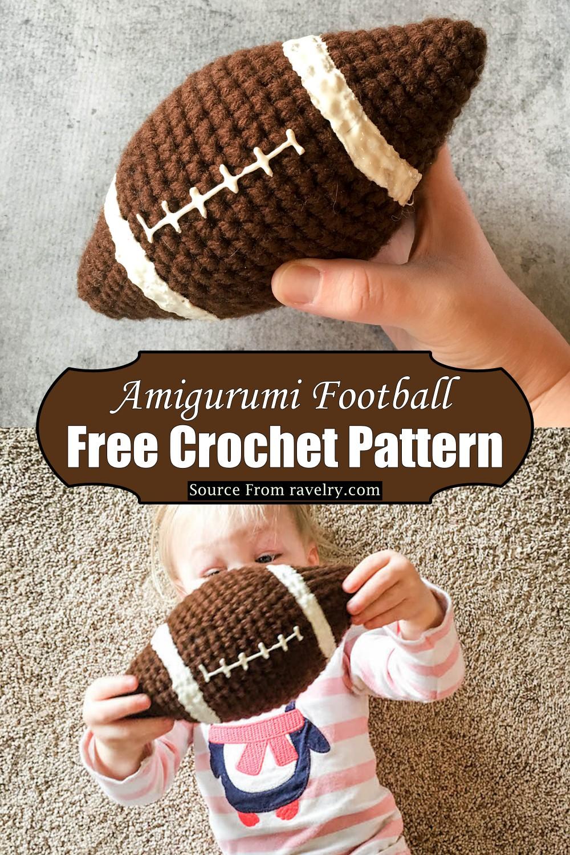 Crochet Amigurumi Football Pattern