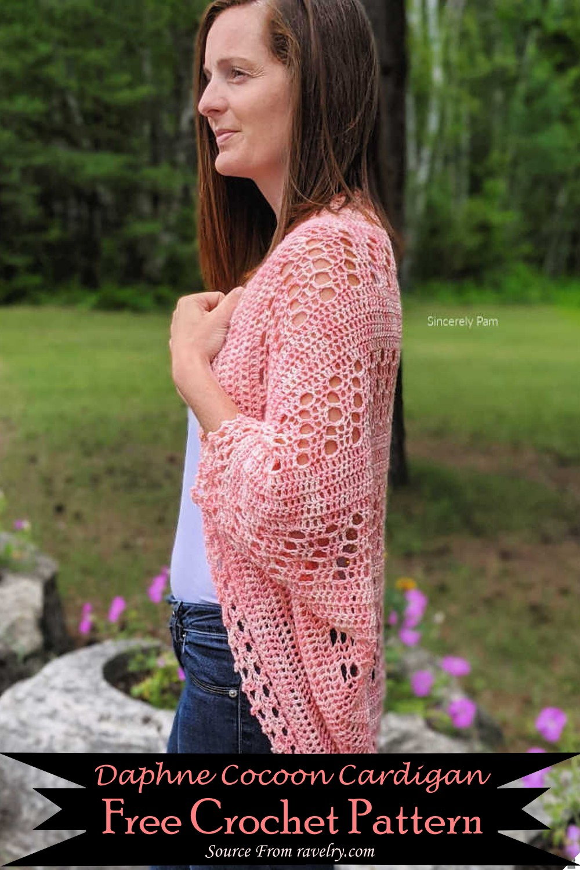Crochet Daphne Cocoon Cardigan Pattern