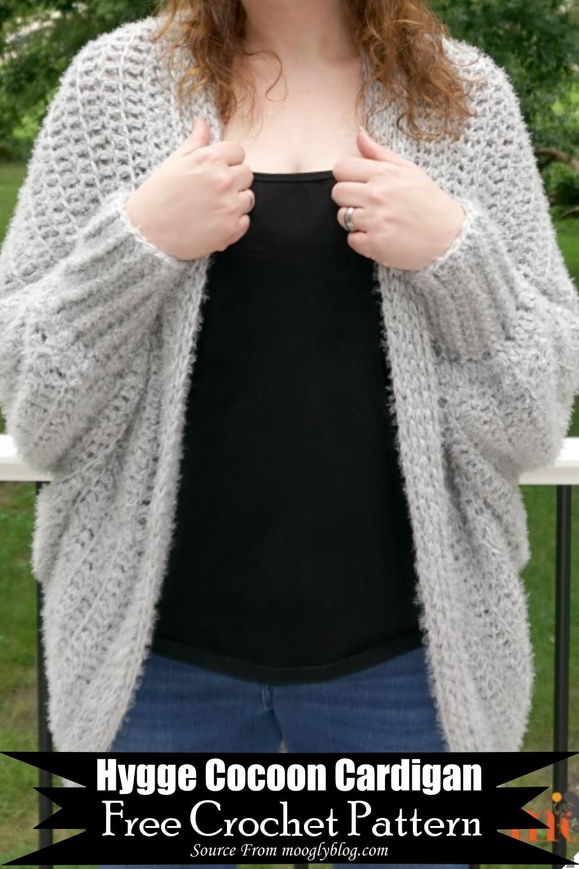 Crochet Hygge Cocoon Cardigan Pattern