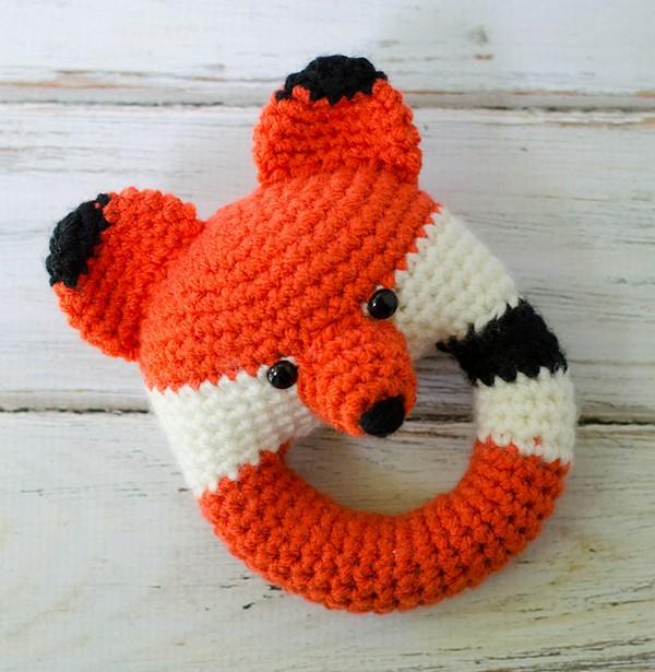 Fox Rattle Crochet Pattern