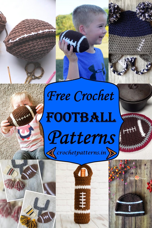 Free Crochet Football Patterns 1