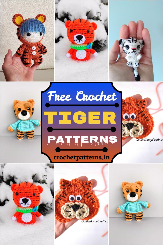 Free Crochet Tiger Patterns